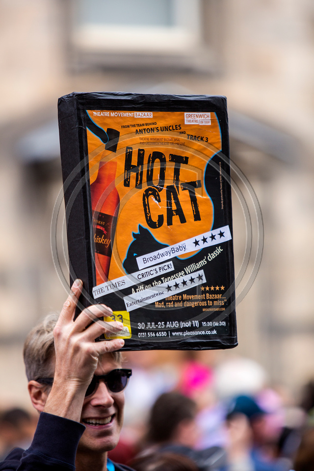 Edinburgh Fringe 2014 Hot Cat